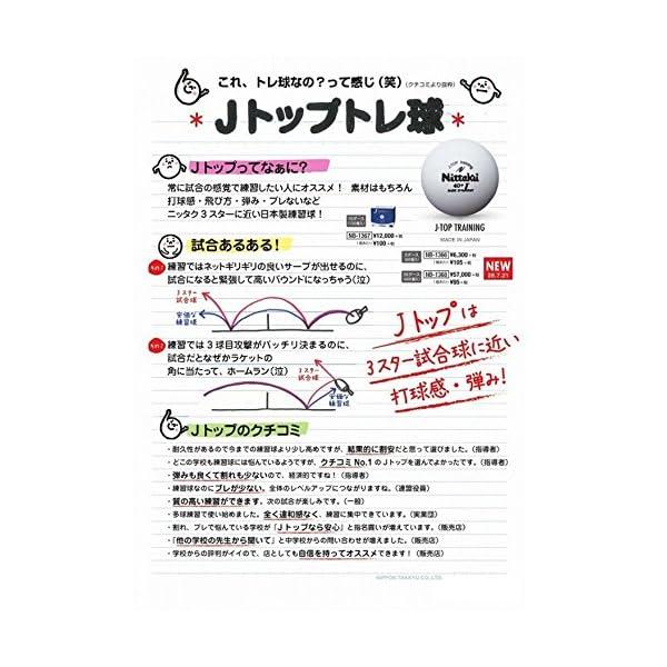 ニッタク(Nittaku) 卓球 ボール 練習...の紹介画像4