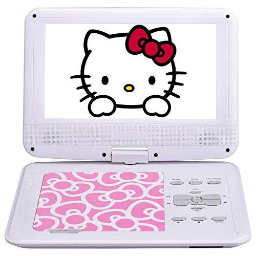 AVOX 9型ポータブルDVDプレーヤー ハローキティモデル (ピンク) HELLO KITTY モデル ADP-9030MKTY-P(AVOX)