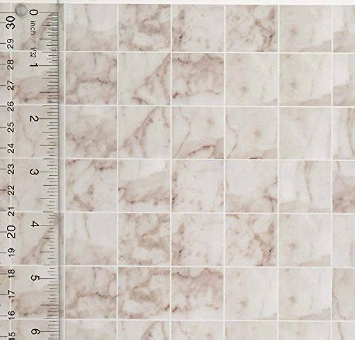 哲学者汚すジャンプMiniature Square White Marble Tile Flooring