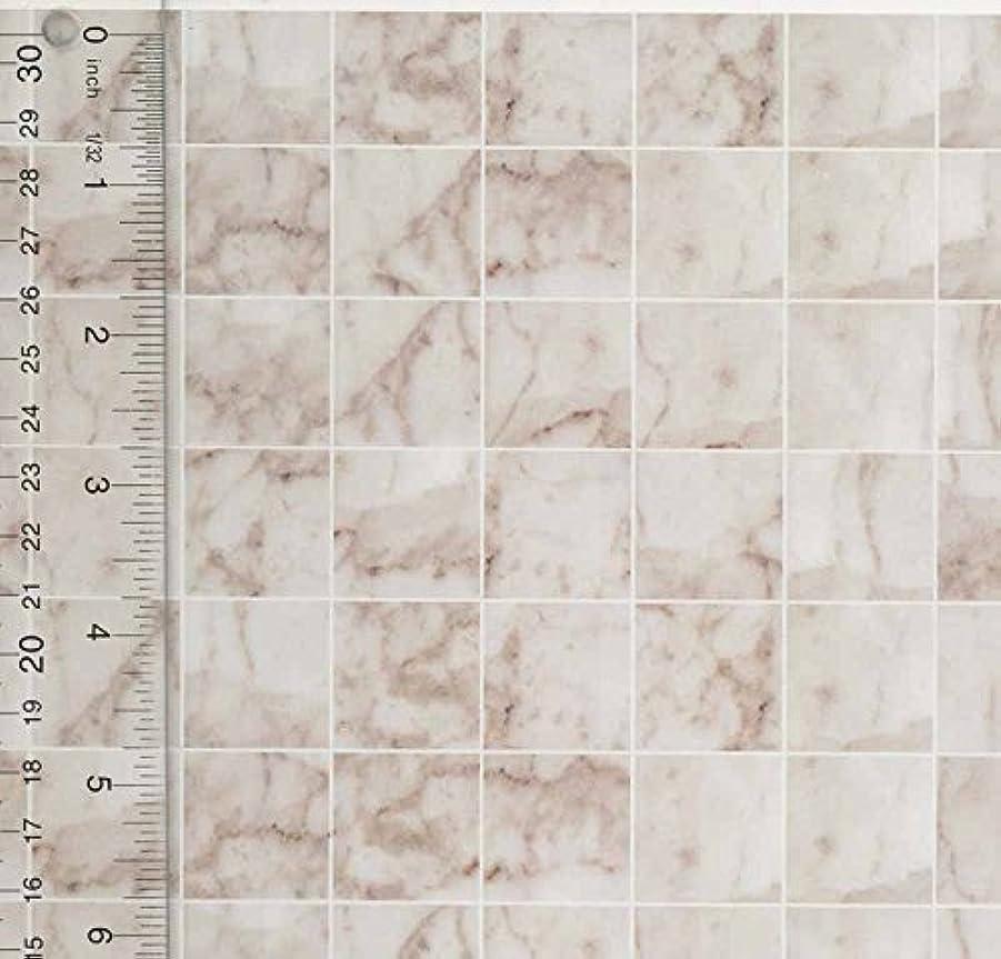 切手あなたのものマーティンルーサーキングジュニアMiniature Square White Marble Tile Flooring