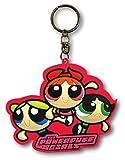 ラバーキーチェーン 【Power Puff Girls】 パワーパフガールズ キャラクター ロゴ 3D キーホルダー 並行輸入 アメリカン雑貨