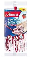 Vileda Supermocio Microfibre Replacement Mop Head