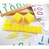 モンテッソーリ 十進法?バンクゲームセット Montessori Bank Game Set 知育玩具