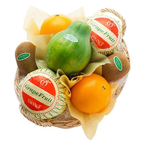 新宿高野 フルーツバラエティーEA #29100 [グレープフルーツ/オレンジ/キウイ/パパイヤ] お中元 敬老の日 ギフト 果物 つめあわせ