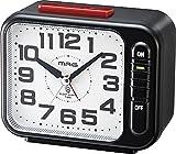MAG モーニングラリー2号 アラームクロック 目覚まし時計 ブラック T-680 BK-Z