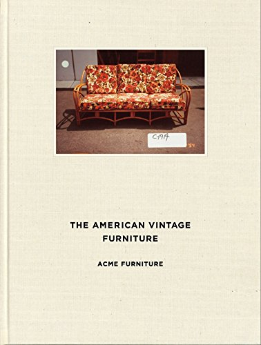 THE AMERICAN VINTAGE FURNITURE  ACME FURNITURE <COVER:SOFA>