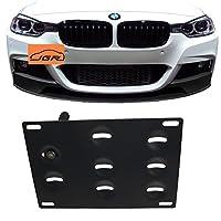 JGRレーシングJDMスタイル車フロントバンパー牽引穴ライセンスプレートマウントブラケット再配置キットfor BMW 3シリーズ 3 Series-F30 F31 JGR Racing