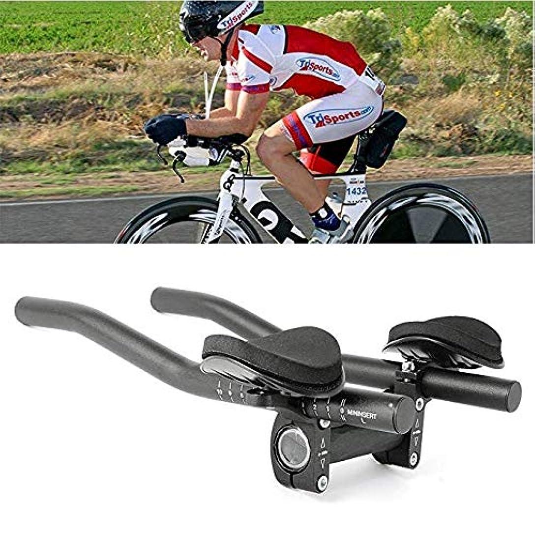 鳥ドラッグ取り出すバイクレストハンドルバー トライアスロンエアロハンドルバー TTバー 補助ハンドル 長距離走行に対応 大口径