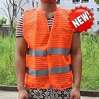 反射ストライプ交通警告ベスト作業服高視認性保護ベスト用衛生労働者アシスタント警察作業服