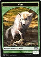 Magic: the Gathering - Wolf Token (001/001) - Prerelease & Release Promos
