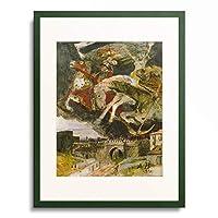 アルノルト・ベックリン Arnold Bocklin 「The War」 額装アート作品