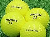 【Aランク】【ロゴなし】ツアーステージ V10 LIMITED イエロー 2014年モデル 12個セット【ロストボール】