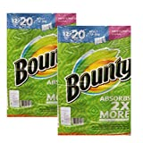 Bounty バウンティー ペーパータオル セレクト アサイズ  105カット 12ロール(柄あり)2個セット