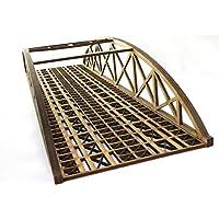 OO Gauge Double Track Bowstring Bridge by WWS - Model Railway MDF Scenery