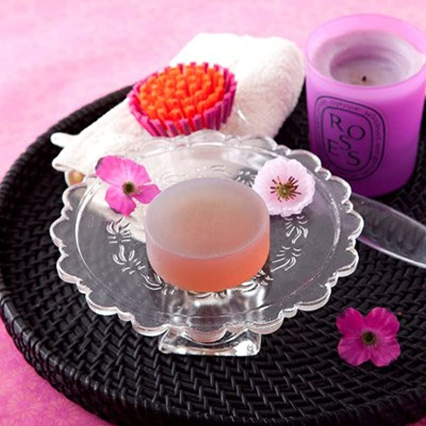 支配するエリートディーラーお肌の弱い方も安心なクリアソープセット ペアローザ エステソープ 紫潤(2個セット)