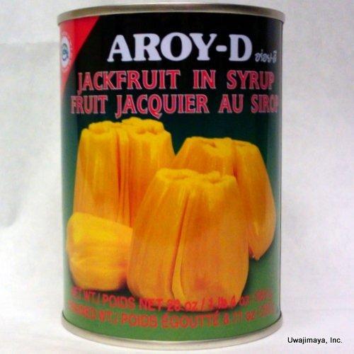 AROY-D Jackfruit In Syrup 565g アロイディー ジャックフルーツ シロップ