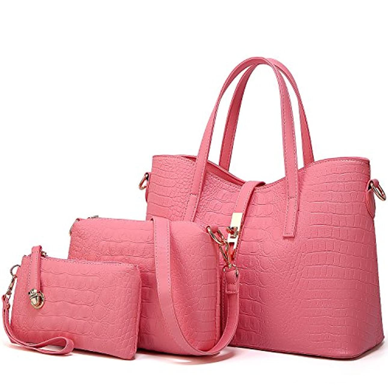 枯渇量富豪[TcIFE] ハンドバッグ レディース トートバッグ 大容量 無地 ショルダーバッグ 2way 財布とハンドバッグ
