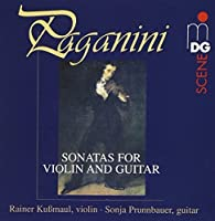 Sonatas for Violin & Guitar by SONJA / KUSSMAUL,RAINER PRUNNBAUER (2003-07-22)