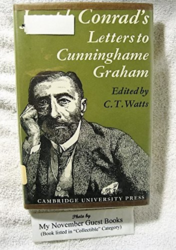 Download Joseph Conrad's Letters to R.B. Cunninghame Graham 0521072131