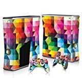 Linyuan 安定した品質 T3040* Skin Decal Wrap Sticker for Microsof XBOX360 SLIM Console+2 Controllers