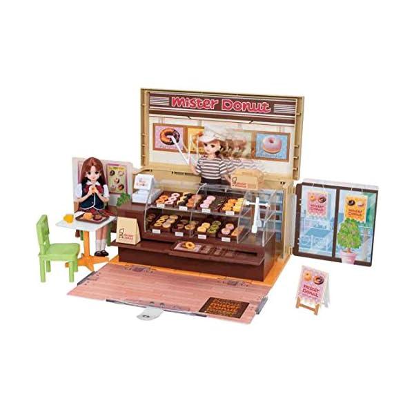 リカちゃん ドーナツいっぱい ミスタードーナツショップの商品画像