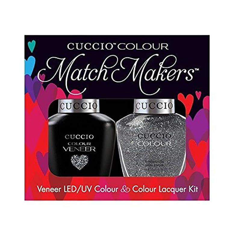 下ダウンタウンヒップCuccio MatchMakers Veneer & Lacquer - Vegas Vixen - 0.43oz / 13ml Each