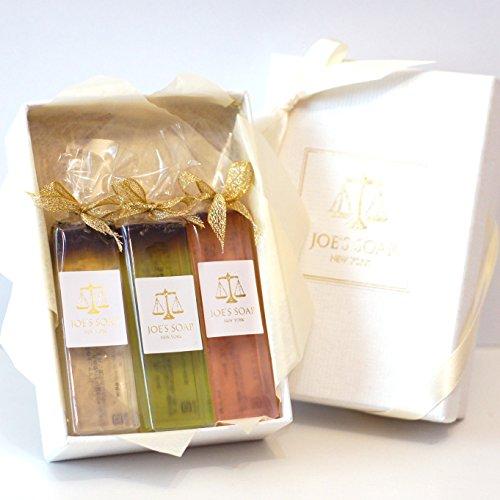 JOE'S SOAP ( ジョーズソープ ) クリスタルソーププチセットC 洗顔石鹸 ボディソープ 石けん オーガニック 20g×3個 ギフトボックス ギフト プレゼント