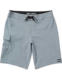 ビラボン スイムウェア スイムウェア All Day X Board Short - Men's Grey Heath [並行輸入品]