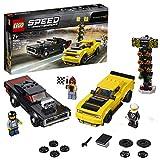 レゴ(LEGO) 2018 ダッジ・チャレンジャー SRT デーモンと 1970 ダッジ・チャージャー R/T 75893 ブロック おもちゃ 男の子 車