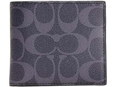 (コーチ) COACH 財布 二つ折り メンズ 札入れ デニム PVC レザー F75083 アウトレット ブランド [並行輸入品]