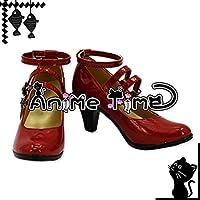 ●●サイズ選択可●●女性23.5CM MJR1681 コスプレ靴 ブーツ ダンガンロンパ 希望の学園と絶望の高校生 セレスティア・ルーデンベルク