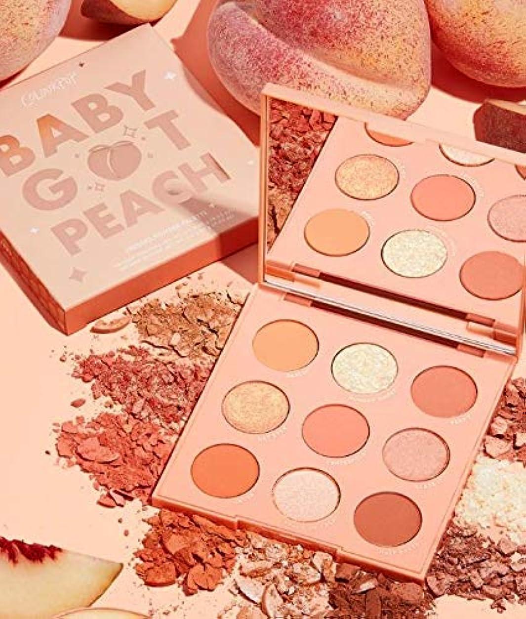 規模基本的な官僚カラーポップ (ColourPop)baby got peach アイシャドウパレット