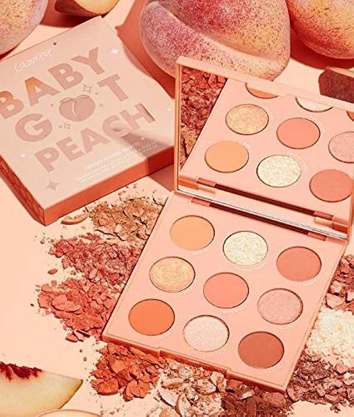 物語非効率的なブラウズカラーポップ (ColourPop)baby got peach アイシャドウパレット