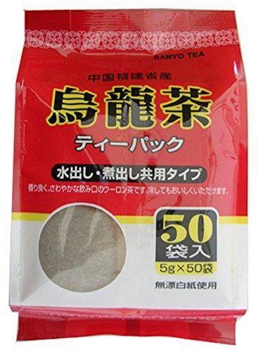 中国福建省産烏龍茶ティーパック 5g×50袋