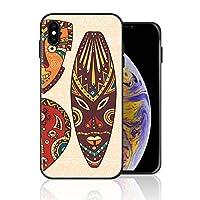iPhone 7/8 携帯カバー アフリカ マスク カラー 記念日 カバー TPU 薄型ケース 防塵 保護カバー 携帯ケース アイフォンケース 対応 ソフト 衝撃吸収 アイフォン スマートフォンケース 耐久