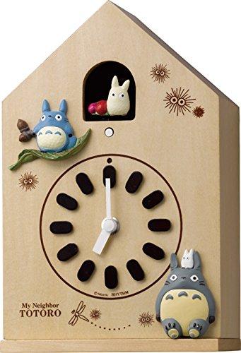 リズム時計 となりのトトロ からくり キャラクター 置き ・ 掛け時計 トトロ M899 4MH899-M06