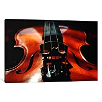 iCanvasART 1ピースバイオリンキャンバスプリントby不明なアーティスト 1.5 by 40 by 60-Inch 44