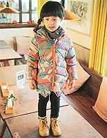 2018秋冬 韓国子供服 子供服 女の子 子供コート中綿コート ジャケット キッズコート 秋冬