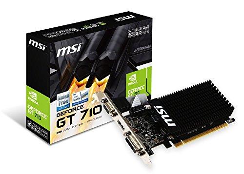 MSI NVIDIA GeForce GT710搭載 GDDR3 2GB グラフィックスボード VD5931 GT710 2GD3H LP B01B14RGRI 1枚目