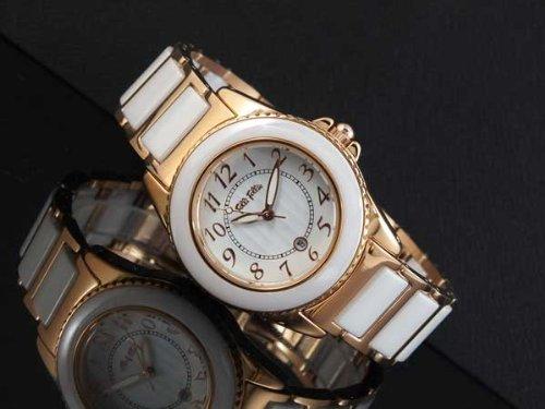 フォリフォリ FOLLI FOLLIE 替えベゼル付き 腕時計 WF1R001BDW ホワイト/ピンクゴールド 腕時計 海外インポート品 フォリフォリ mirai1-243831-ak [並行輸入品] [簡易パッケージ品]