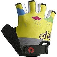 キッズグローブ自転車 四歳子供グローブ手袋指きり 五歳キッズサイクリンググローブローラーブレード キッズプロテクター通気性素材 4歳~10歳