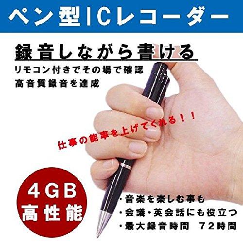 GoodsLand ボールペン 型 ボイスレコーダー PCレ...