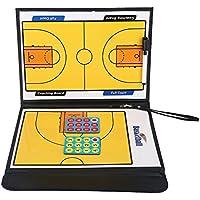 バスケットボールボード タクティクスボード 作戦盤 折り畳み式 開閉式  磁気 コーチング指導 専用ペン付き