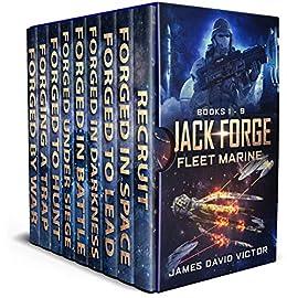 Jack Forge, Fleet Marine Boxed Set (Books 1 - 9) by [Victor, James David]