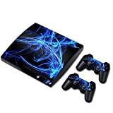 Zhhlaixing PlayStation3 Creative Ultra-thin ステッカー+2 Controller for ファンシー Skin Coverage Stickers PS3 TN0117*