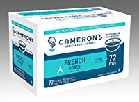 Cameron's Coffee Single Serve Pods, French Roast, 72 Count