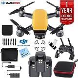 DJIスパークFly More DroneコンボSunriseイエロー–CP。PT。000900トリプルバッテリーバンドル