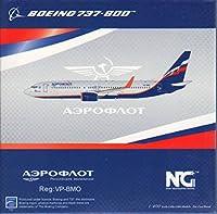 NGモデル NGM58019 1:400 エアロフロート ボーイング 737-800 レギュラー #VP-BMO (塗装済み/組み立て済み)