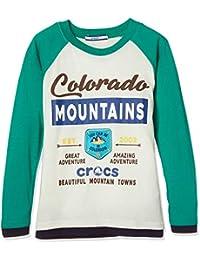 [CROCSプリントロングTシャツ148121]CROCSプリントロングTシャツ148121 ボーイズ