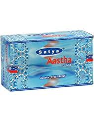 SATYA(サティヤ) アースタ Aastha スティックタイプ お香 12箱 セット [並行輸入品]